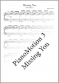 PianoMotion 3 - Missing You