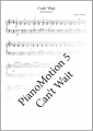 PianoMotion 5 - Can't Wait